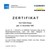 Zertifikat_Wasserhygiene_Karge